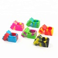 new color small hexagon non-stick soap silicone molds