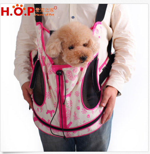 New Breathable Pet Dog Cat Chest Pack Dog Carrier Front Style Backpack Bag