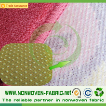 PP + PVC coated non woven slip resistant fabric
