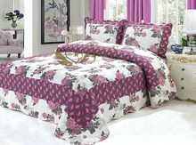 Beautiful colorful embroidery good quality design patchwork quilts wholesale