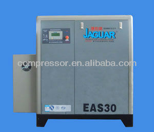 22KW VSD(variable Speed) air compressor,screw air compressor,lubricated screw type compressor