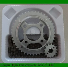 1045 steel motorcycle parts of motorcycle chain and sprocket kits front and rear sprocket