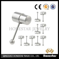 Honestar Women sex toy Vibrating body piercing jewelry