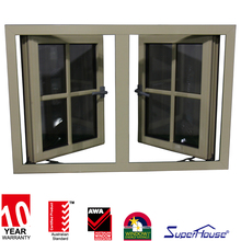 Superhouse unique aluminium window grill design round sample design window grills with AS2047