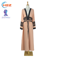 Zakiyyah E001 Fashion Simple Style Muslim Women Dress Pictures Open Arabic Abaya Burqa Kaftan