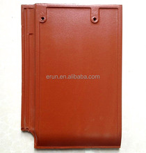 Exterior decorative german classic flat clay roof tiles