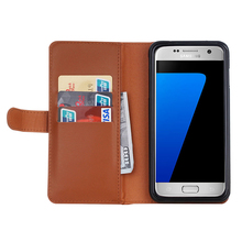 New Arrival card slots flip zipper pockets leather wallet case cover for samsung galaxy s7 edge s8 s8plus
