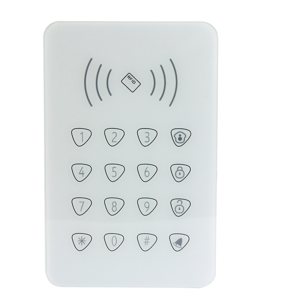 433mhz/868mhz wireless indoor keypad alarm system keypad