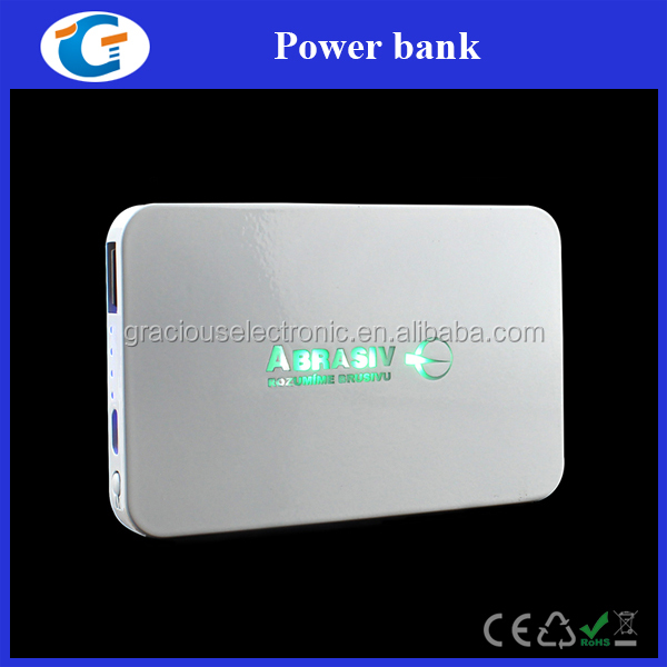 Brand novelty 2017 led light power bank 2500mah
