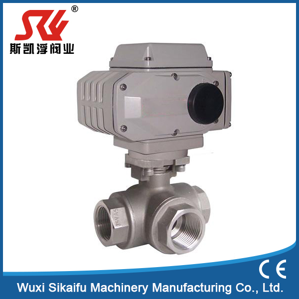 Brand new type ball valve for refrigeration