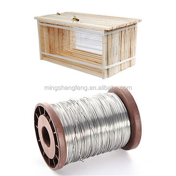 0.5mm 500g roll of Galvanized Iron Bee Hive Frame Wax Foundation Wire