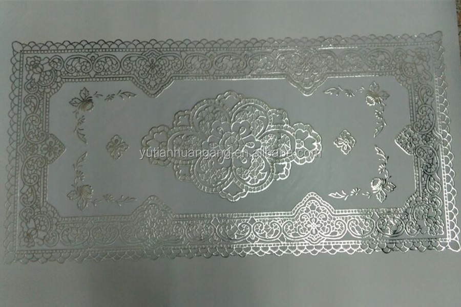 Oblong/ Round PVC Lace Table Runner