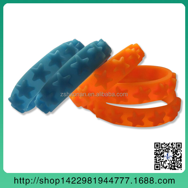 promotional silicone bracelet rubber band with logo