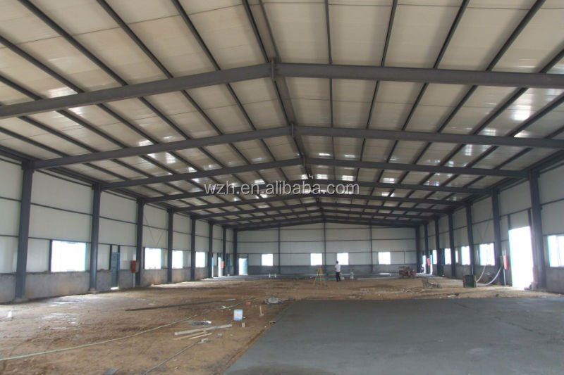 light steel structure construction building for warehouse,workshop, factory