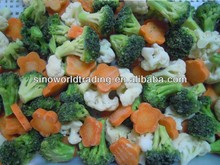 frozen food broccoli cauliflower green peas