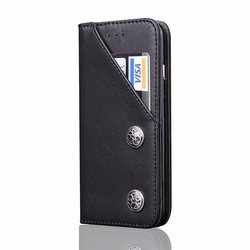 Luxury Wallet Flip Cover For Samsung S8 Cell Phone Leather Case With Card Holders