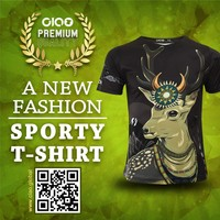 Ciao sportswear - taiwan deer design dri fit jersey and t shirt