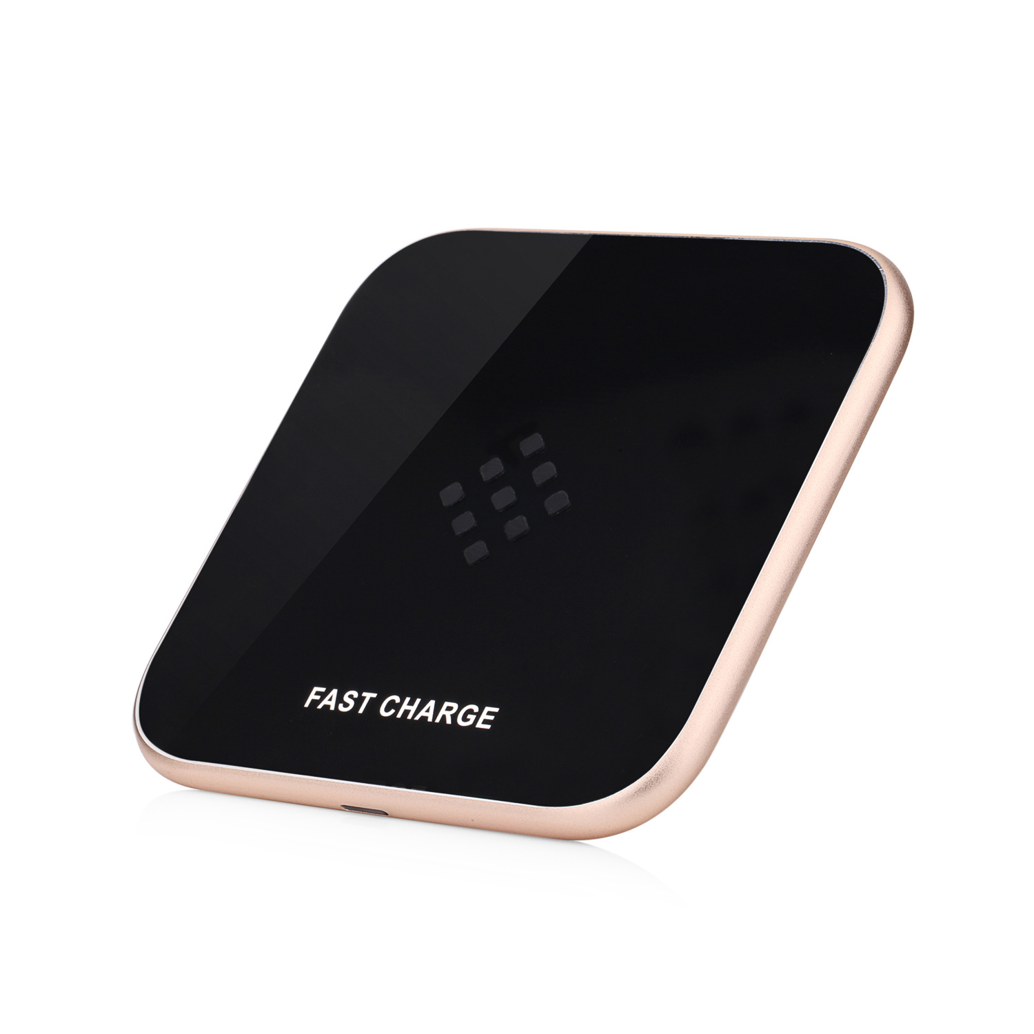 Universal Mini Colorful Round Qi factory produced classic Wireless Charger for iPhone Samsung Mobile Phone