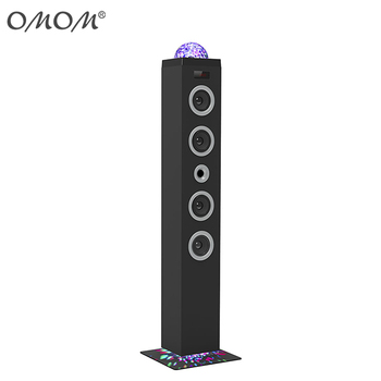 OM-6004 2.1 Tower Speaker Led Light Party Speaker Led Speaker