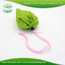 Recycled Polyester shopping foldable nylon bag