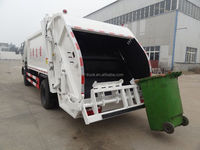 DONGFENG 4x2 10m3 waste compactor truck 170hp hot sale for export