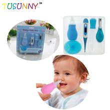 Factory supply baby grooming kit kids nail care cleaning set for baby