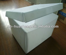 Polypropylene pp corrugated documents container