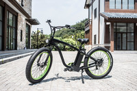 electric sports motorcycle fat tire ebike cruiser with 29er aluminum alloy