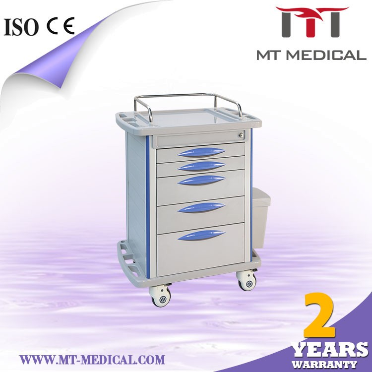 Medical cart trolley, medical cart with drawer, medical crash carts for sale