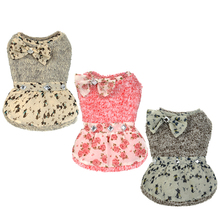 Hot product formal dog clothes wear female designer puppy clothing pet wedding dresses