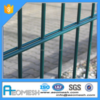 Made In Guangdong welded twin wire mesh fence panels