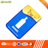 OEM Wholesale Promotional Fashionable Silicone Mobile Pocket Smart Phone Wallet