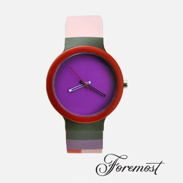 OEM design various custom exchengeable silicone wristband watch