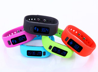 Silicone Fitness Activity Tracker bluetooth vibrating bracelet smart bluetooth watch