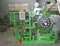 Motorization dual wheels vehicle tire building machine