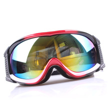 Hot selling winter sports skiing goggles cheap custom logo sunglasses