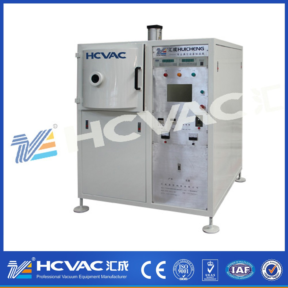 Disposable Tableware High Vacuum Metallizing Equipment/plastic plate vacuum coating machine/plastic fork and knife PVD plating