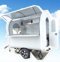 made in china goods mobile hot dog food van/mobile food carts for sale