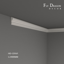 High quality polyurethane moulding HD-1s830-E plastic crown molding