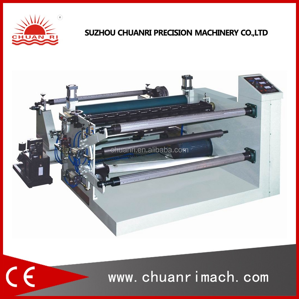 Circle And Straight Blades Automatic Roll Kraft Paper Tape Cutting Machine