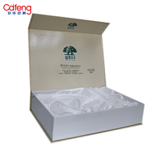 Wholesale high quality custom china suppliers hard kraft paper box shopping cosmetic packaging box
