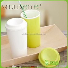 hot new products for 2015 single wall PP plastic coffee mug thermal cup