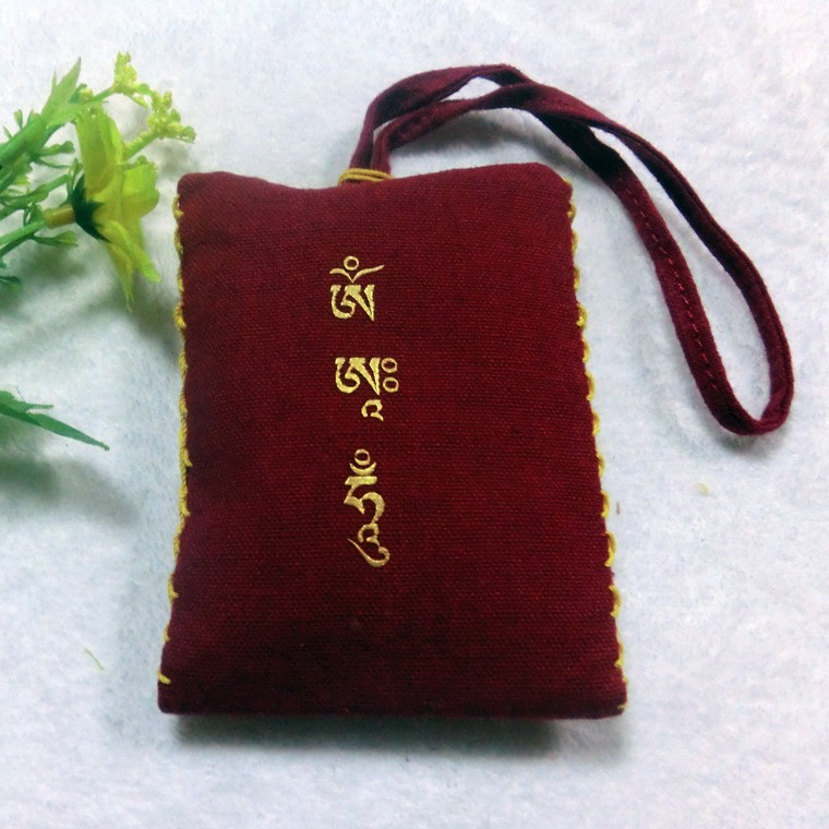 Water printing nice embroidered aromatic pouch