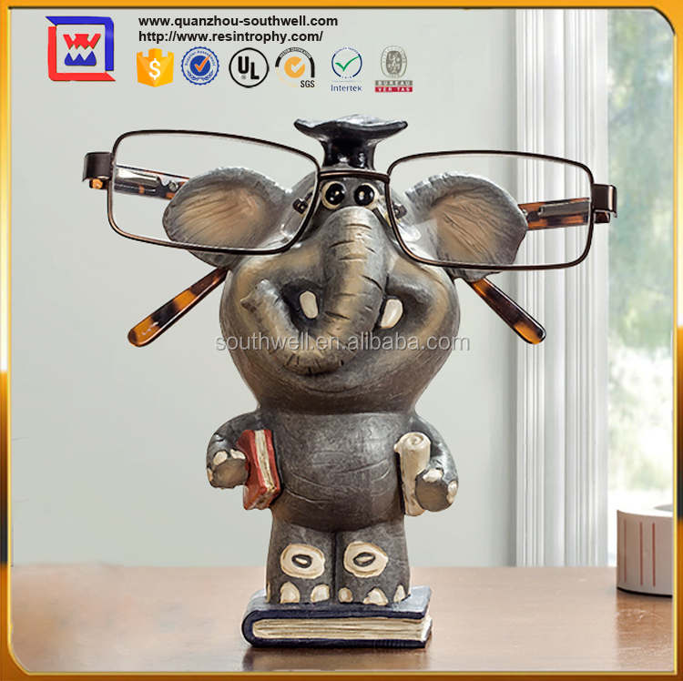 Classical Style Elephant Spectacle Holder For Gift