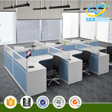 modern style aluminum partition cubicle workstation system office work partition