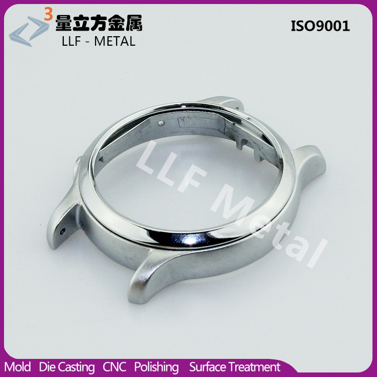 Shenzhen alloy watch factory custom 18K gold smart watch case