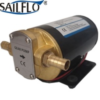 Sailflo 12V 12L/min electric lubrication oil transfer gear pump/oil dispensing system