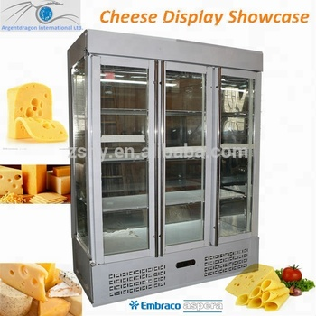 Stainless Steel Cheese display Showcase