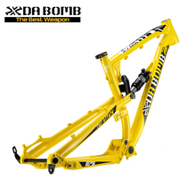 DaBomb 27.5 Aluminum Full Suspension Mountian Bicycle Frame