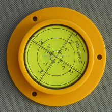 90x17mm high quality flange engineer plastic multi-function bubble levels with mounting holes